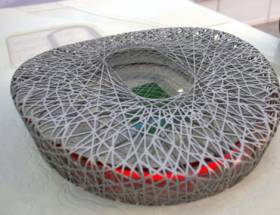 Olympisch stadion - maquette